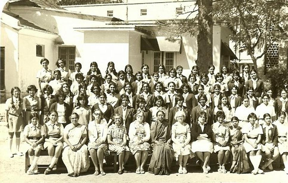 Senior Boarders & Staff 1979